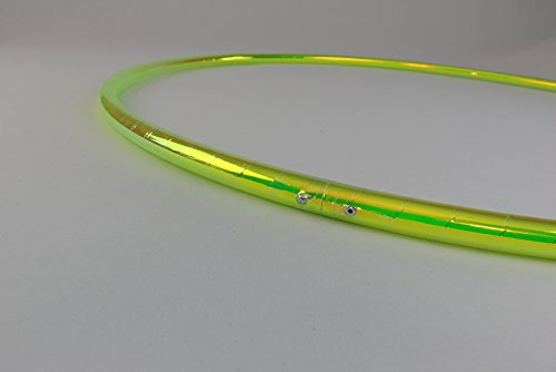 """Color Changing Polypro Hula Hoop for Dance and Fitness (Indigo Sunrise, 32"""" x 5/8"""" OD (Intermediate - Advanced))"""