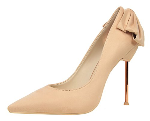 T&Mates Womens Sexy Pointed Toe High Heel Slip On Stiletto Pumps Wedding Party Basic Shoes (6 (Cute Construction Worker Costumes)