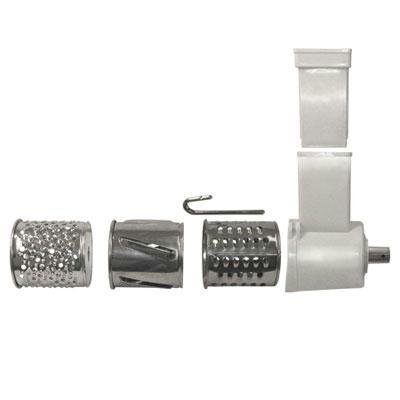 Price comparison product image Weston 82-0105-W Shredder & Slicer Accessory Kit for 5 Electric Grinder