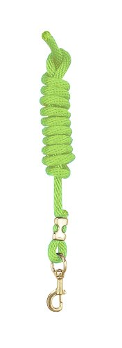 - Perri's Poly Nylon Lead with Snap, Lime Green, 8-Feet