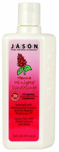 Jason Conditioner, Henna Hi-Lights Conditioner, 16 Ounce (Pack of 2)