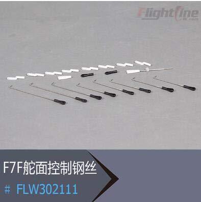 Hockus Accessories Pushrod Set for Freewing Flight Line F7F-3 tigercat rc Plane