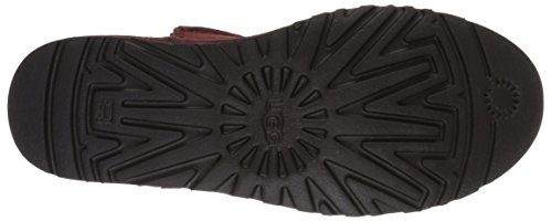 UGG Damen Classic Ungefütterter Mini Slouch Boot Roter Lehm