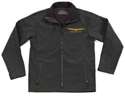 Joe Rocket Honda Goldwing Soft Shell Womens Black Casual Wear Motorcycle Jacket - Small