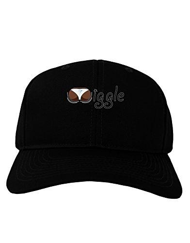 Wiggle - Twerk Dark Adult Dark Baseball Cap Hat - Black