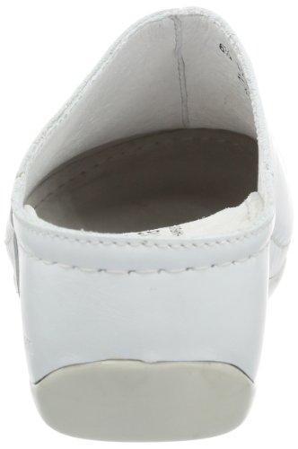 Berkemann Jada - Zuecos de cuero mujer blanco - Weiß (weiß 101)