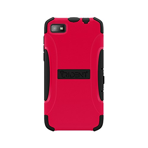 Trident Case Series Protective for BlackBerry Z10/Surfboard/London - Retail Packaging - Red