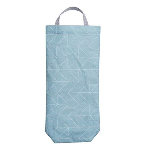♚Rendodon♚ Storage Bag, Household Storage, Hangable Environmental Garbage Storage Bag, Hanging Kitchen Garbage Bag Storage Packing Organiser Organizer Storage Bag (B) ()