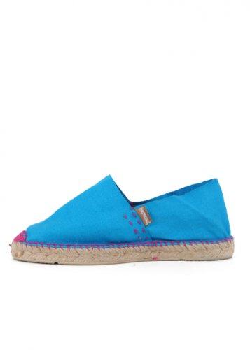 Espadrij Schuhe Classic blau/pink Damen Schuhe Blau/Pink