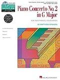 Hal Leonard Piano Concerto No. 2 In G Major 2 Pianos 4 Hands Book/CD Composer Showcase Hal Leonard Student Piano Library by Matt Edwards