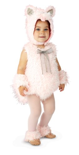 Baby Halloween Costumes Cat (Princess Paradise Baby Girls Shaggy Pink Kitty, 6/12 Months)
