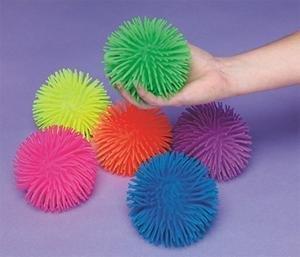 Ball Squish - Rhode Island Novelty Puffer Balls (Set of 6)