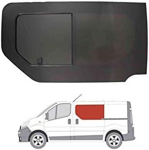 Mano izquierda ventana abatible para puerta corredera, tintado oscuro Renault Trafic (2001 – 2014): Amazon.es: Coche y moto