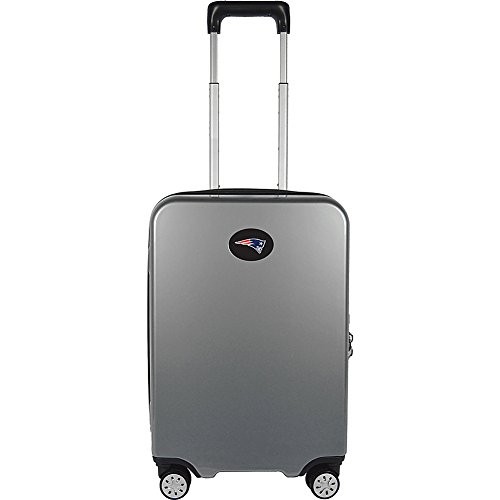 Denco NFL New England Patriots Premium Hardcase Carry-on Luggage Spinner by Denco