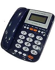 تليفون سلكى للخط الارضى Victoria-70 من فيكتوريا المهندس - ازرق