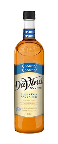 Da Vinci Gourmet Sugar Free Caramel Syrup, 750ml Bottle by DaVinci