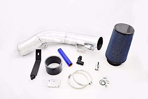 Rudy's Polished Cold Air Intake Kit Compatible with 2003-2007 Ford 6.0L Powerstroke Diesel