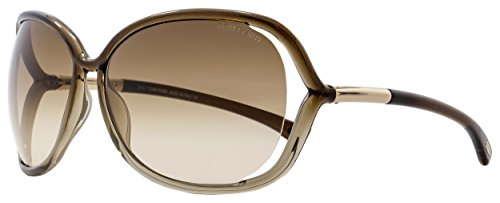 Tom Ford Raquel FT0076 Sunglasses-38F Bronze (Gradient Brown - 2013 Tom Eyewear Mens Ford