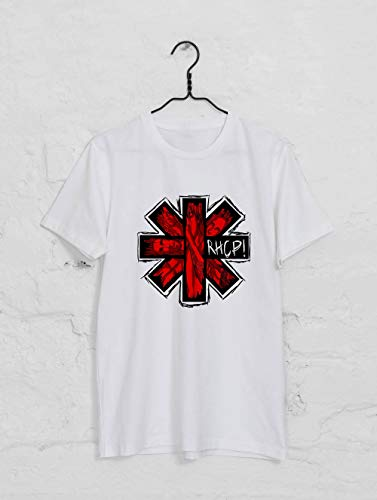 Red Hot Chili Peppers, RHCP, Band T Shirt, Red Hot Chili Peppers Band (Red Hot Chili Peppers Snow Guitar Notes)