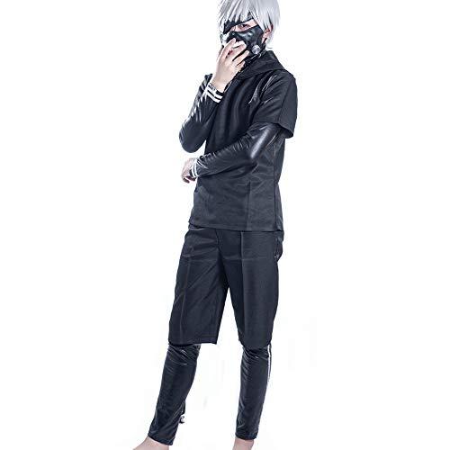 COSPROFE Ken KanekiCosplay Costume Anime Uniform Hoodie Full