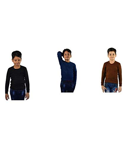 146345632 OSWAL JBI Multi Colour Kids Thermal (Pack of 3)  Amazon.in  Clothing ...