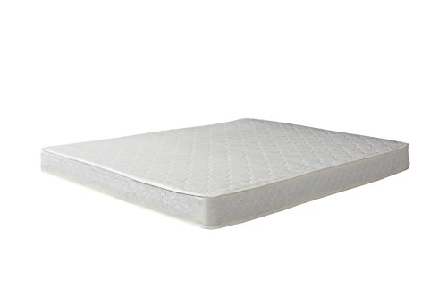 """Swiss Ortho Sleep, 8"""" Inch Certified Bonnell Coil Pocket Spring Contour MATTRESS"""