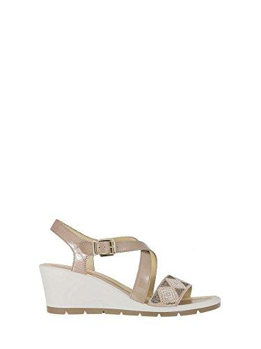 Enval 1283133 Wedge Sandals Women Beige