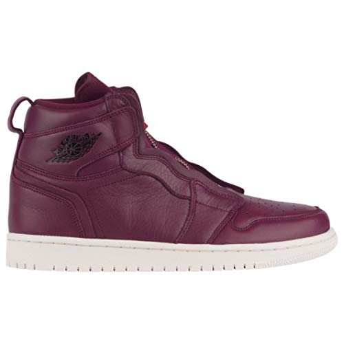 爆発する抵抗力がある平和な(ナイキ ジョーダン) Jordan レディース バスケットボール シューズ?靴 Retro 1 High Zipper Premium [並行輸入品]