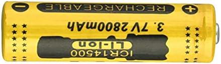Rechargeable Batteries 14500 3.7V 2800Mah Rechargeable Li-Ion Battery 3.7V 4Pcs
