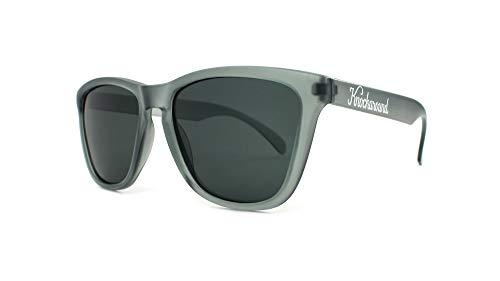 - Knockaround Classics Polarized Sunglasses With Translucent Grey Frames/Black Lenses
