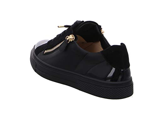 Noir Hassia Noir de Chaussures Femme Lacets Noir pour Ville à qPan0q