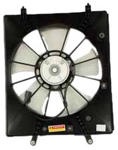 TYC 600620 Honda/Acura Replacement Radiator Cooling Fan Assembly by TYC