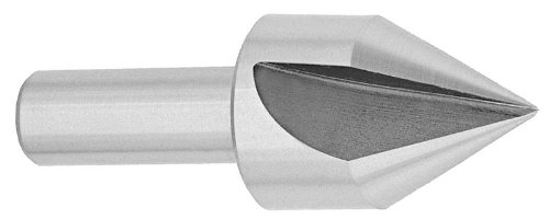 Drill America DEWSFC Series High-Speed Steel Countersink, 1 Flute, 1/4'' Shank Diameter, 1/2'' Size, 82 Degrees Angle (Pack of 1) by Drill America
