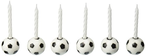 Oasis Supply Wax Soccer Ball Holder with Birthday Candles]()