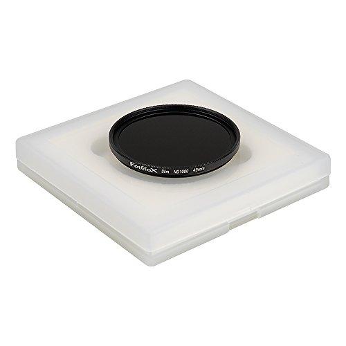 Fotodiox Pro 49mm 10-Stop Neutral Density Slim Filter (ND1000) - Full-Size - Black - FDXPro-ND1000-49mm