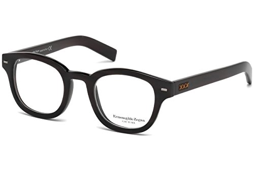 Ermenegildo Zegna Couture Prescription Eyeglasses - ZC5014 063 - Black - Women Zegna