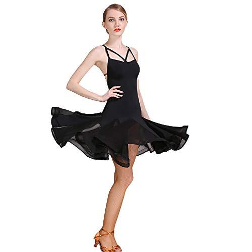 6e2b2ab4e Women Latin Dresses Women Latin Dress for Girls High Collar top Floral  Print Salsa Cha Cha