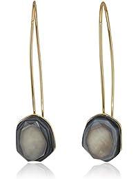 Women's Shell Stone Long Drop Earrings