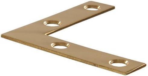 "Solid Brass Decorative 1-11//16/"" Hinges Hillman 851198"