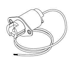 Light Socket for Pelton & Crane for All LF & LF+ PCS605