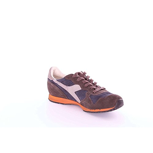 DIADORA HERITAGE uomo sneakers basse157664 C5076 TRIDENT S SW 40.5 Blu