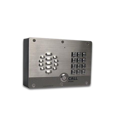Cyberdata 011214 VOIP OUTDOOR INTERCOM W/ KEYPAD NEW DEVICE - Voip Door Intercom