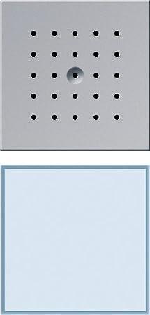 Gira 126065 T/ürstation 1-fach Farbe alu