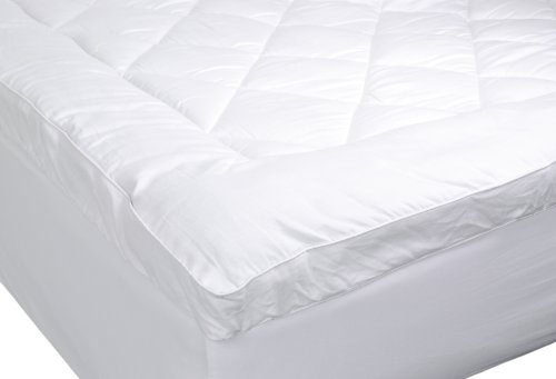 UPC 844067010882, Nest Home by Robin Wilson 300 Thread Count Top Hypo-Allergenic Luxury Mattress Pad, Full, White