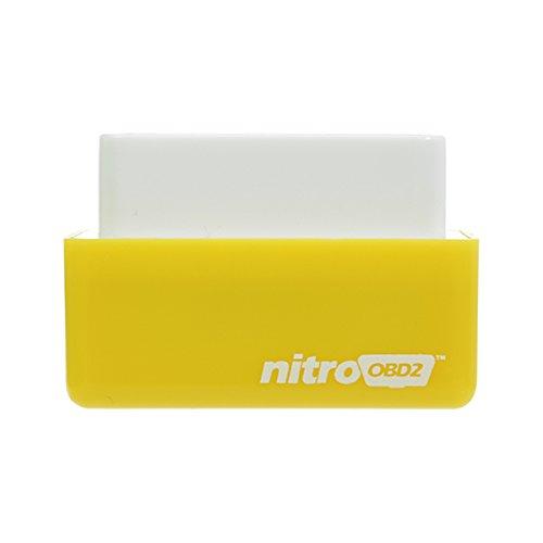 Nitro OBD2 Benzine économie Jaune Chip Power Box carburant dispositif d'optimisation