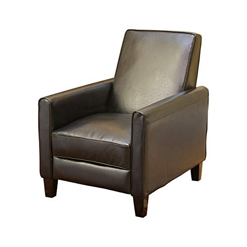Christopher Knight Home 224737 Lucas Saving Leather Recliner | Perfect for Home or Office | Ideal...