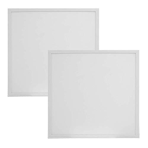 2-Pack, Premium 2ft x 2ft LED Flat Panel - 30 Watt - Dimmable - 3,900 Lumens - LumeGen (5000K)