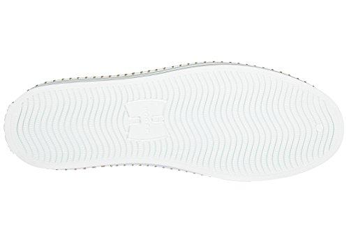 Hogan Zapatos Zapatillas de Deporte Mujer EN Piel Nuevo r260 Blanco EU 38.5 HXW2600AD70IQE0351