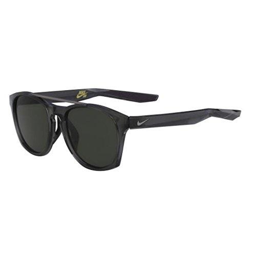 Nike Sonnenbrille (NIKE CURRENT EV1057) ANTHRA/GUNMETAL W/GRN LENS