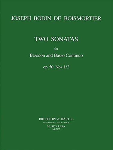 (Boismortier: Bassoon Sonatas, Op. 50)